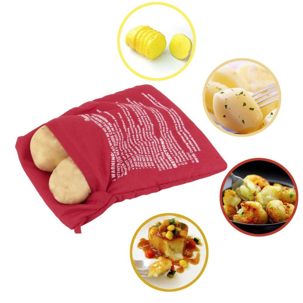 Bolsa de microondas para asar patatas