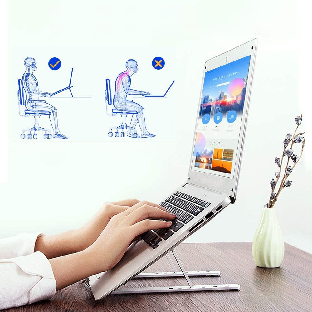 """Soporte portátil plegable para ordenador portátil y tablet BN1035 hasta 15.6"""""""