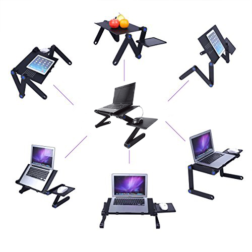 Mesa para ordenador portátil con soporte para ratón BN1041 teletrabajo