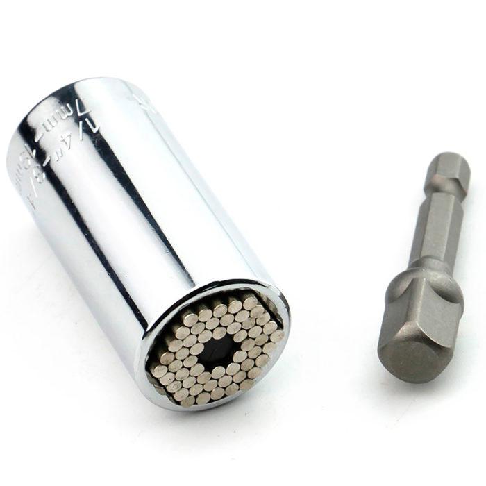 Multi herramienta llave de vaso de tubo multiagarre universal BN1801