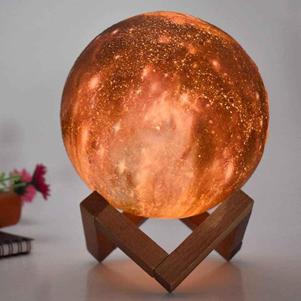Lámpara de luz LED universo táctil de 13cm de diametro cambio de color