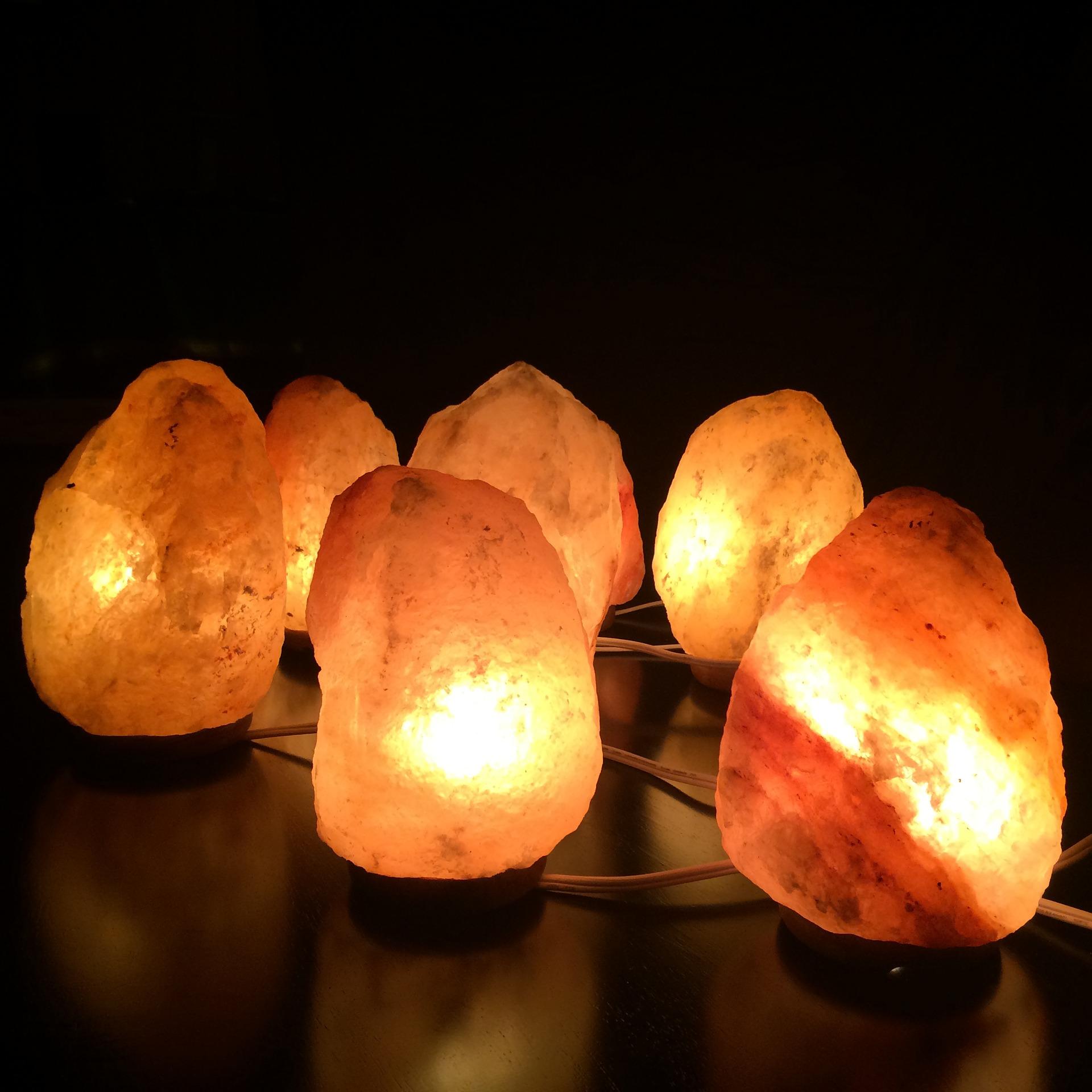 Lámpara de sal 24cm BN2239