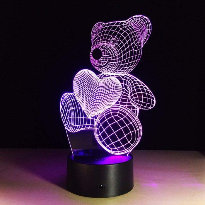 Lámpara LED ilusión 3D BN2271