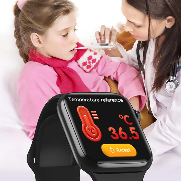 Reloj inteligente con sensor de temperatura corporal Smartwatch BN3108