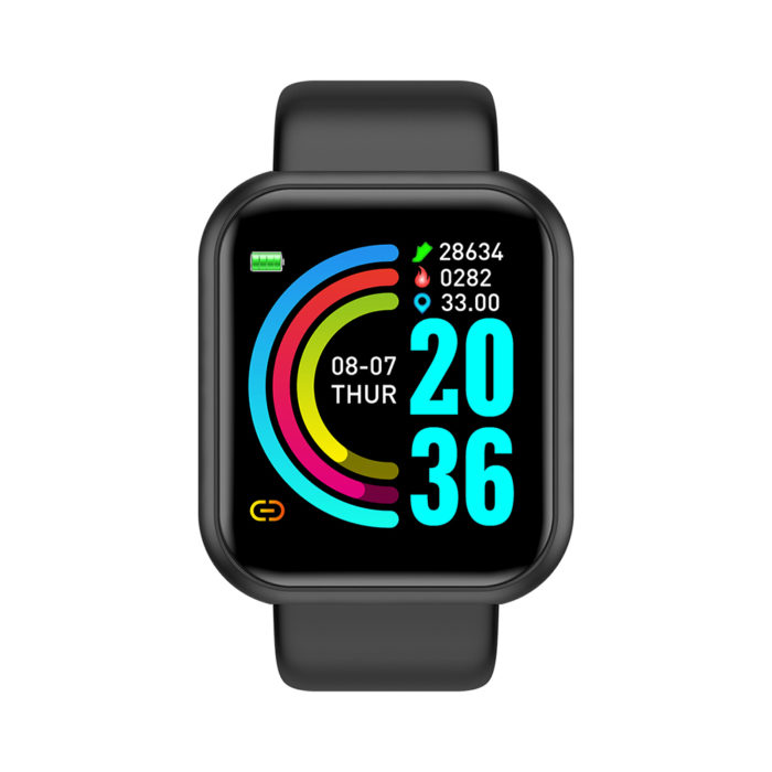 Reloj deportivo inteligente con vibración Smartwatch BN3111, medición de la frecuencia cardíaca, cuenta los pasos