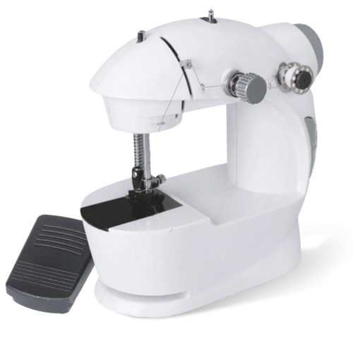 Máquina de coser portátil con pedal y 2 velocidades BN3401