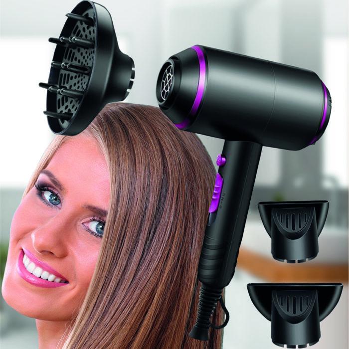 Secador de pelo We Beauty BN3442 de 1800W con 2 difusores y concentrador