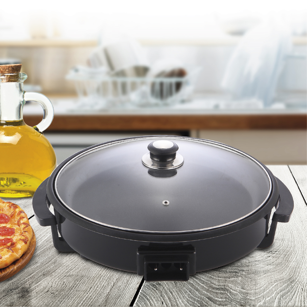 Paellera eléctrica We Houseware BN3451 pizza pan de 30cm 1500W