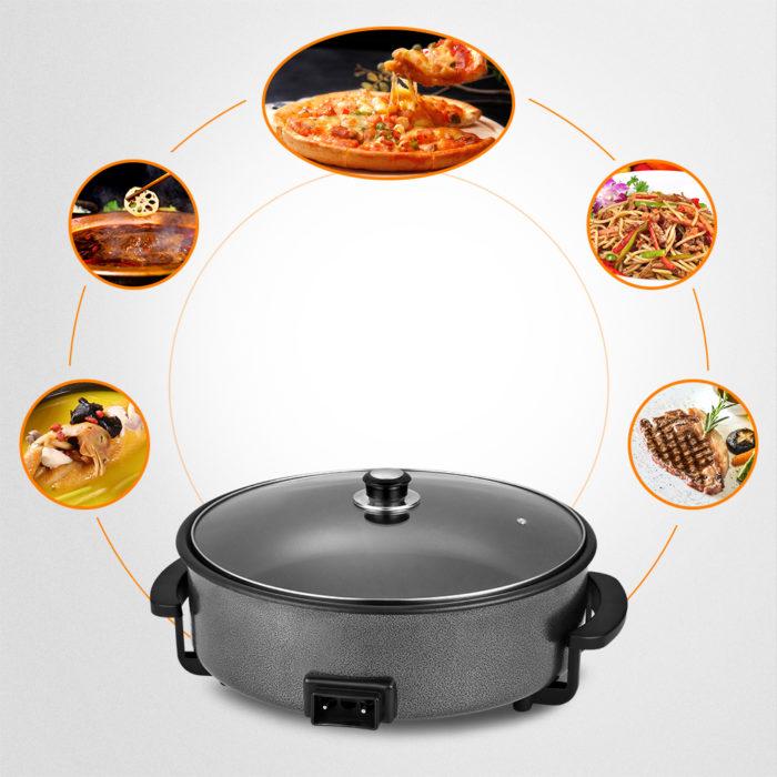 Paellera eléctrica We Houseware BN3458 pizza pan de 42cm 1500W