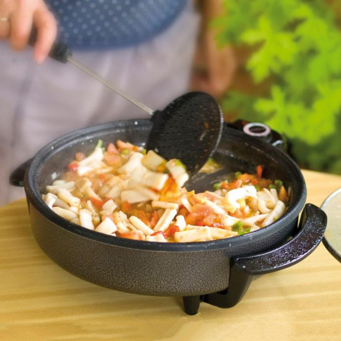 Paellera We Houseware BN3457 pizza pan eléctrica de 42cm 1500W