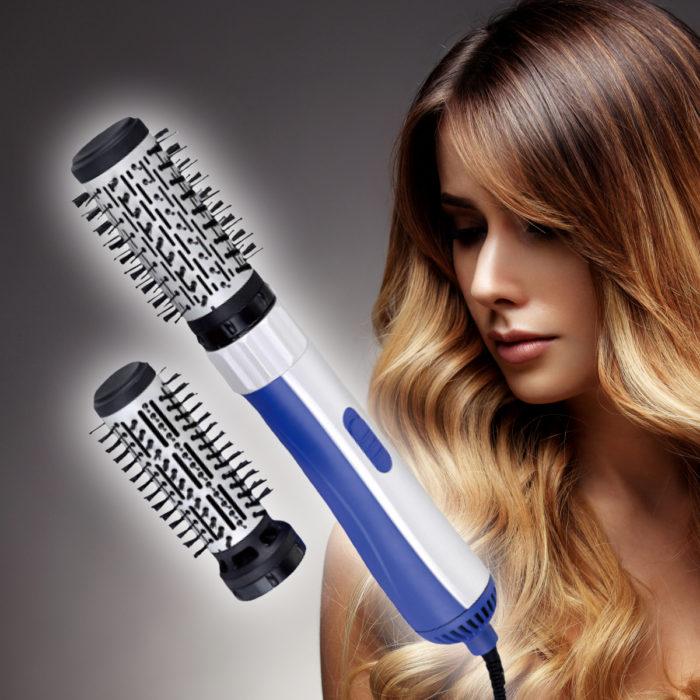Cepillo rizador secador y voluminizador de cabello 2 en 1 BN3645