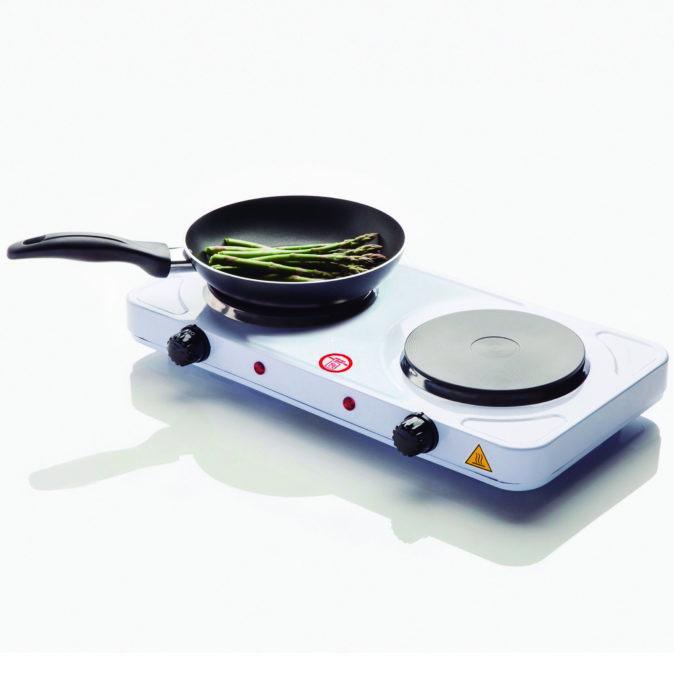 Cocina eléctrica 2 Fuegos 1000w +1000W BN3650