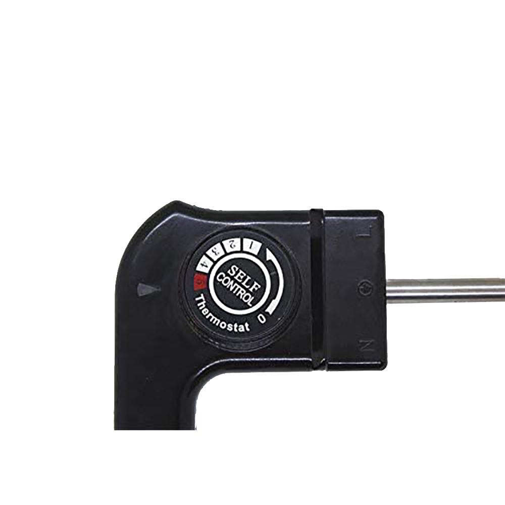 Grill eléctrico sin humos de 1250W con parrilla de aluminio antiadherente BN3673 superficie 25,5x30,5cm