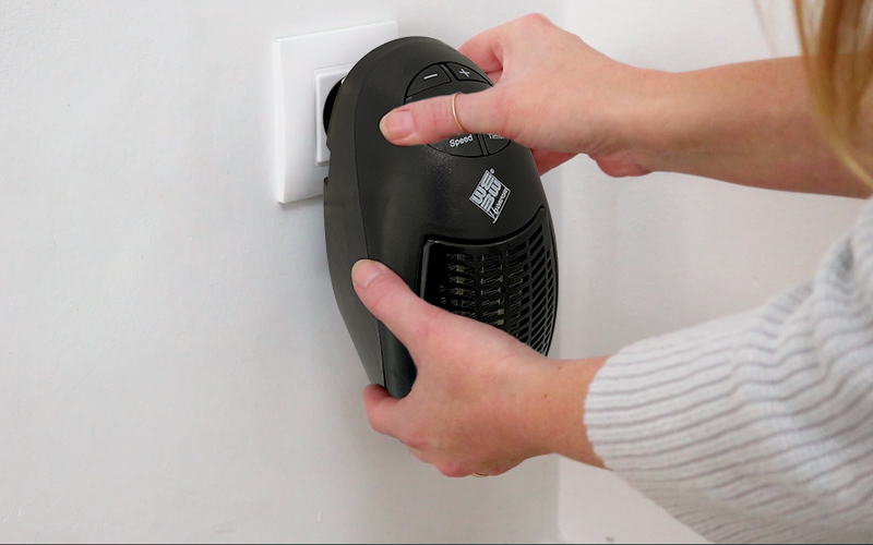 Calefactor portátil sin cables BN4089