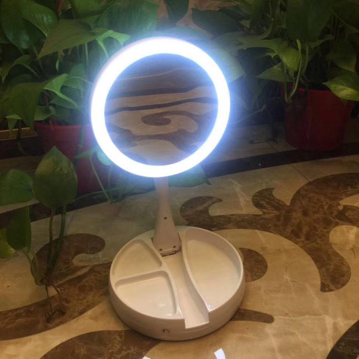 Espejo luminoso plegable BN4223