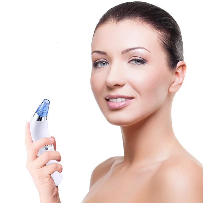 Limpiador eléctrico facial de succión para poros y puntos negros BN4355