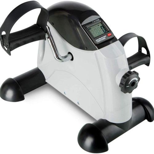 Mini Bicicleta estática BN4695 para el entrenamiento de brazos y piernas con asa para fácil transporte