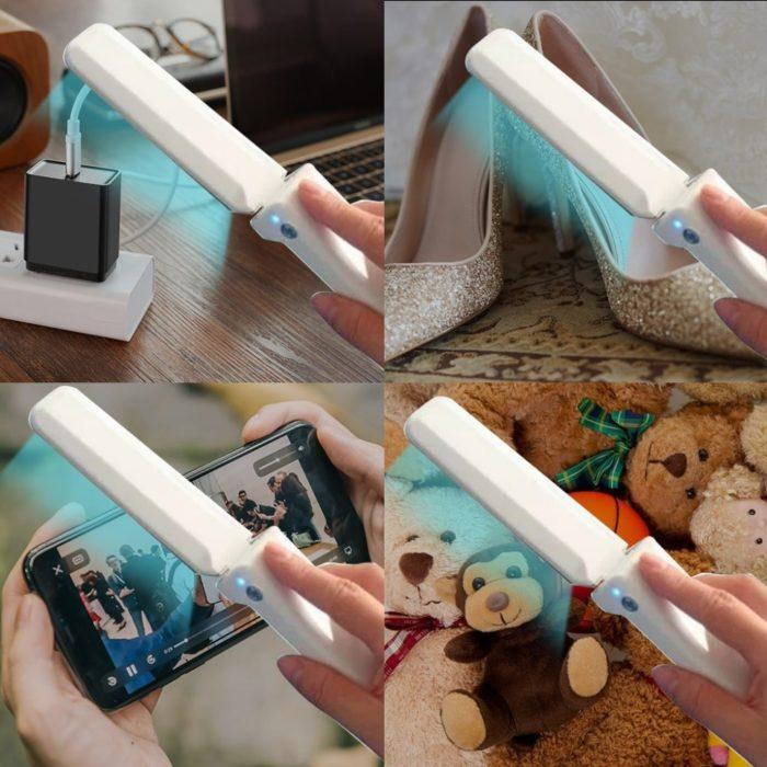 Mini lámpara luz UV BN4803 de desinfección portátil