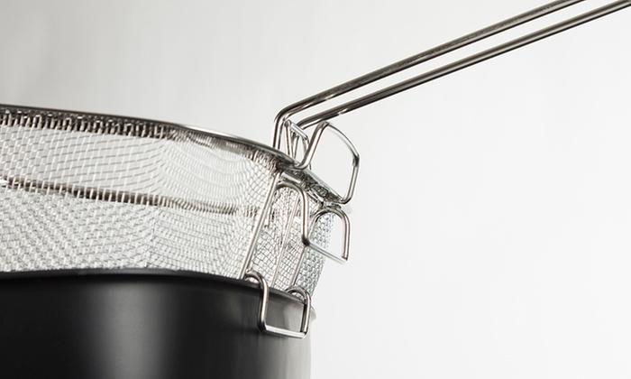 Sartén cuadrado con tapa de cristal y accesorios BN5510