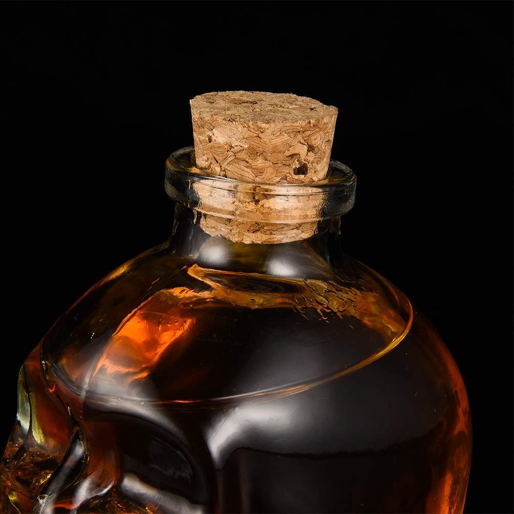 Licorera calavera con 6 vasos de chupitos BN5566