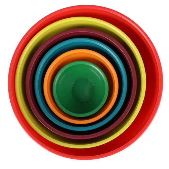 Recipientes de plástico 6 piezas BN5868