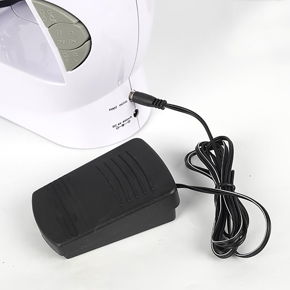 Mini máquina de coser portátil de pedal We Houseware BN3404 con mesa de extensión