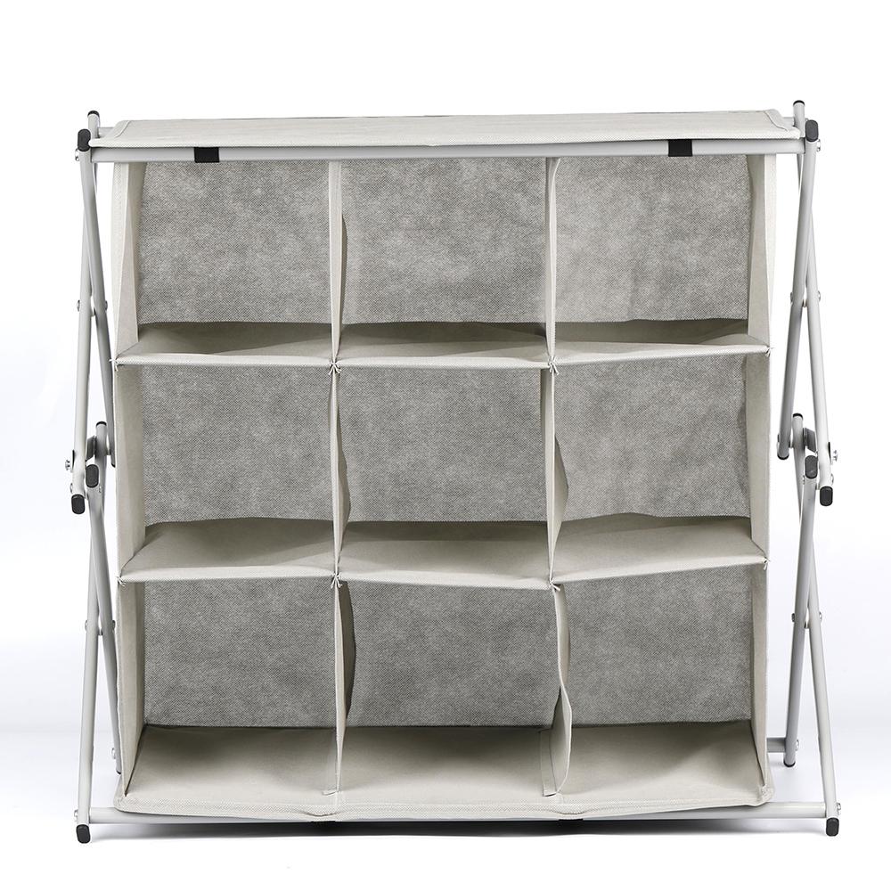 Organizador multiusos We Houseware BN5311 con 9 compartimentos 60x35x57cms