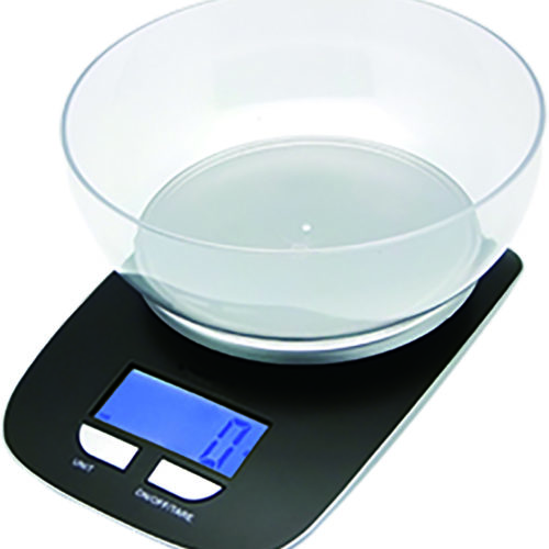 Báscula electrónica de cocina We Houseware BN5984 con bol hasta 5kg