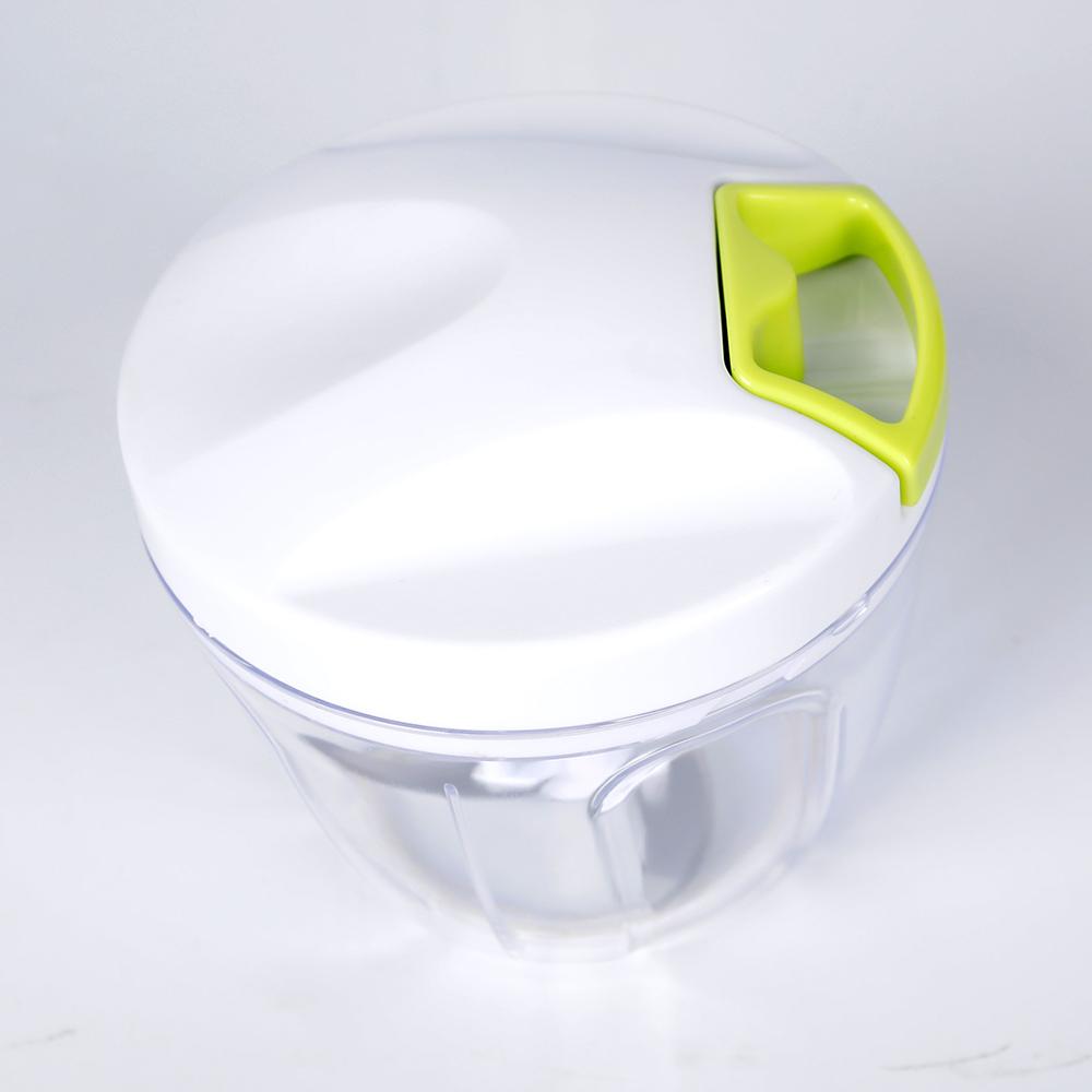 Picadora manual multiusos We Houseware BN5831 de 3 cuchillas de acero